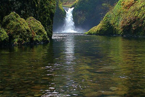 Photograph - Punchbowl Falls by Todd Kreuter