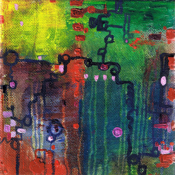 Painting - Punctuated Silences by Regina Valluzzi