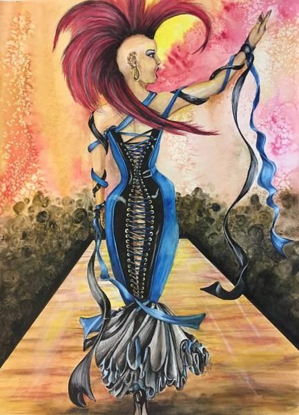 Painting - Punk Rock Opera by Mastiff Studios