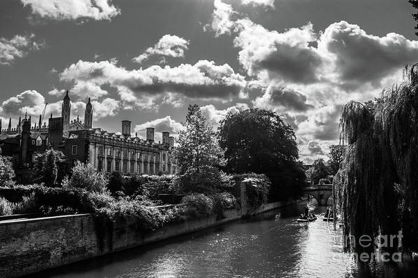 Photograph - Punting, Cambridge. by Nigel Dudson