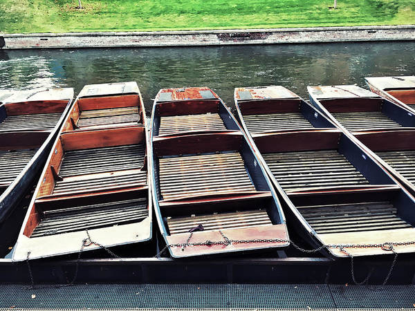 Wall Art - Photograph - Punts On The River by Tom Gowanlock