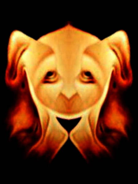 Digital Art - Pup by Mary Russell