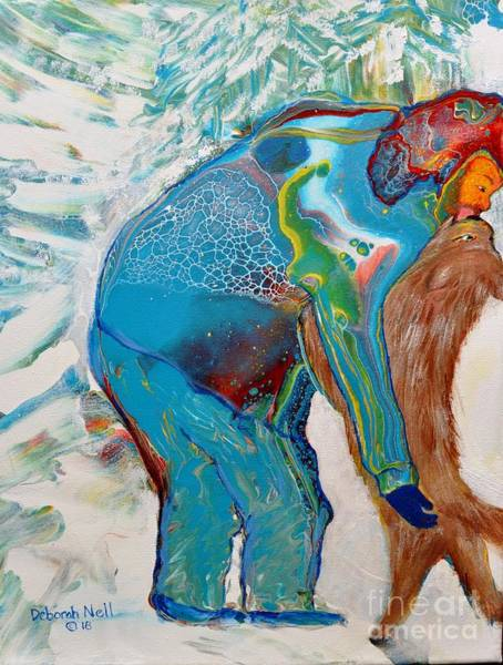 Painting - Puppy Love by Deborah Nell