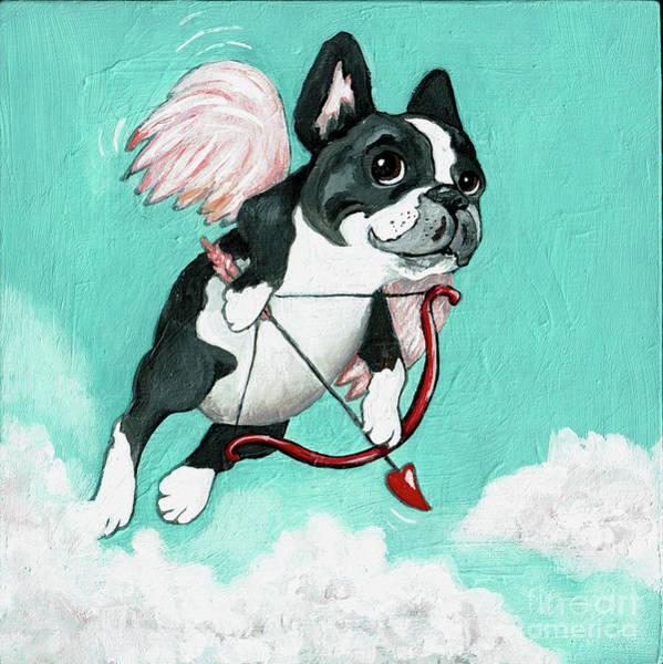 Wall Art - Painting - Puppy Love by Robin Wiesneth