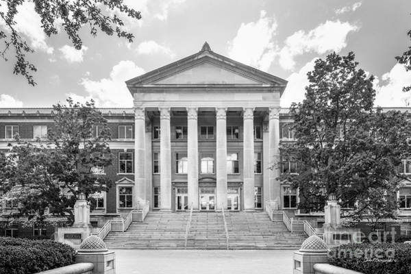 Photograph - Purdue University Hovde Hall by University Icons