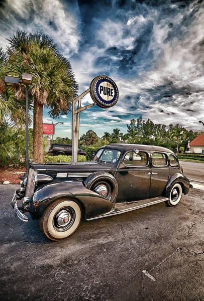 Wall Art - Photograph - Pure 39 Packard Super 8 by Don Columbus