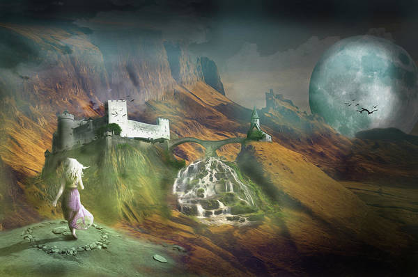 Wall Art - Digital Art - Pure Fantasy by Nathan Wright