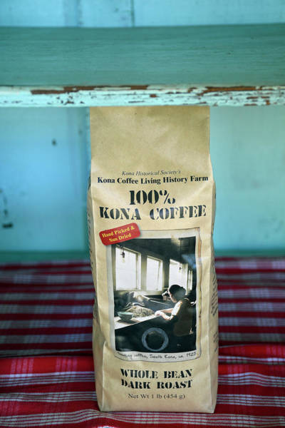 Photograph - Pure Kona Coffee by Bruce Gourley
