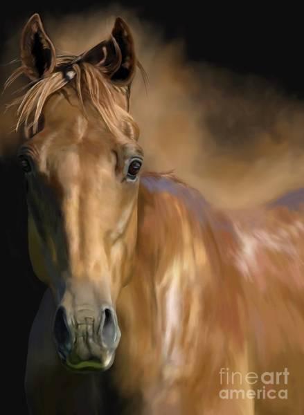 Horsemanship Painting - Pure by Monique Lap Art