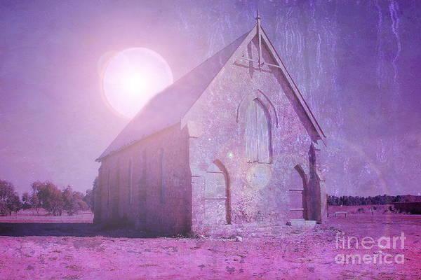 Photograph - Purple Architecture by Elaine Teague