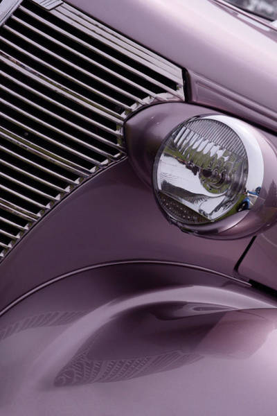 Grill Photograph - Purple Baby by Rebecca Cozart