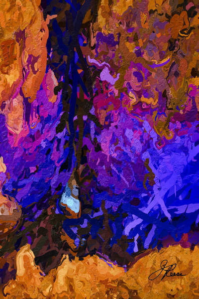 Painting - Purple Cave by Joan Reese