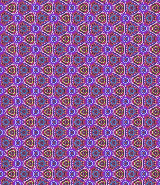 Groovy Mixed Media - Purple Doodles - Hidden Smiles by Gravityx9 Designs