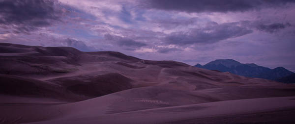 Photograph - Purple Dunes by Brian  Weiss