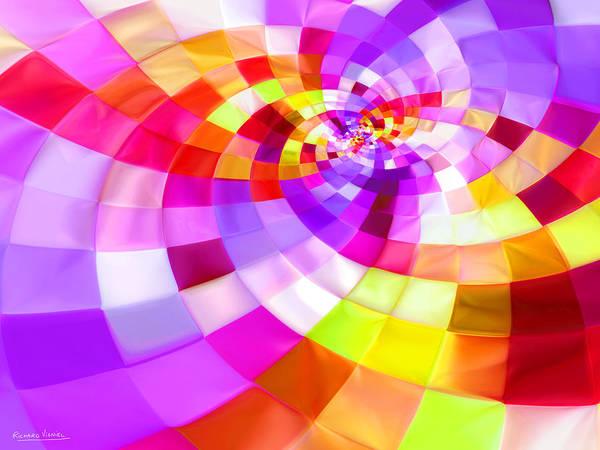 New Trend Digital Art - Purple Gold by Richard VIGNIEL