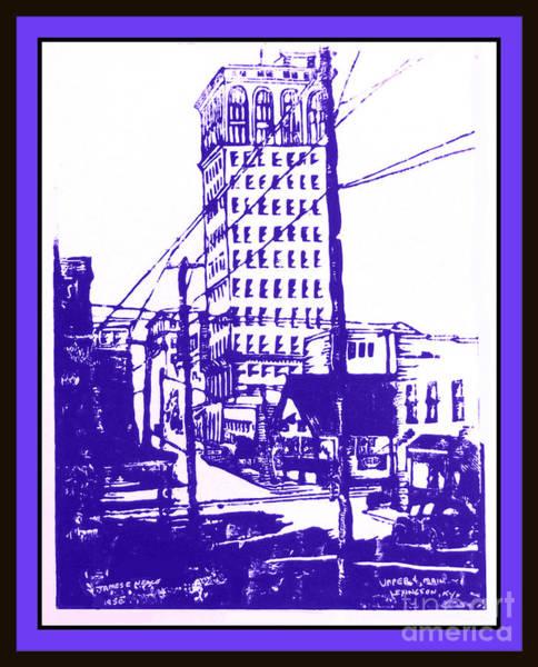 Drawing - Purple Haze by David Neace