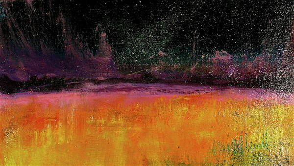 Painting - Purple Horizon by Les Leffingwell