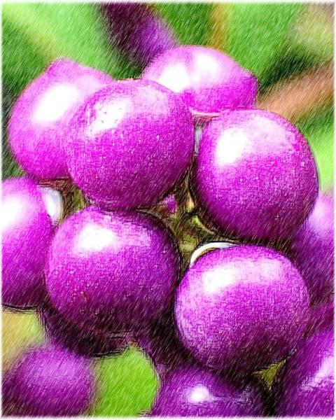 Digital Art - Purple by Kumiko Izumi