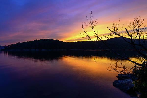 Photograph - Purple Lake by Michael Scott