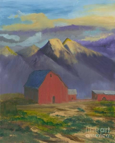 Wall Art - Painting - Purple Mountain Majesty by Gloria Condon