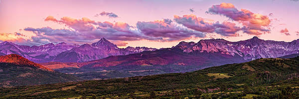 Photograph - Purple Mountain Sunset by Rick Wicker
