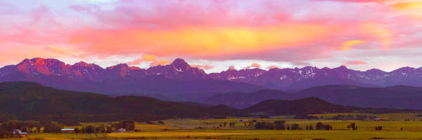 Photograph - Purple Mountains Panorama by Rick Wicker
