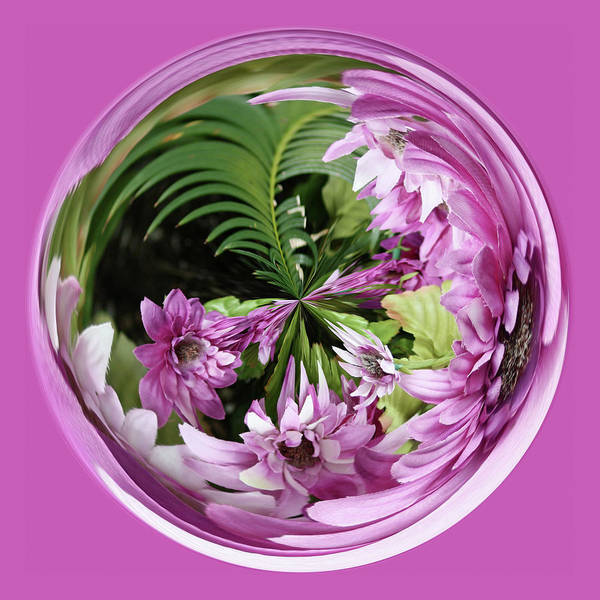 Photograph - Purple Orb by Bill Barber