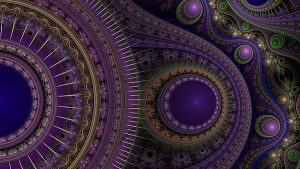 Digital Art - Purple Passion by Barbara A Lane
