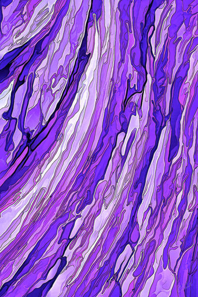 Digital Art - Purple Passion by ABeautifulSky Photography by Bill Caldwell