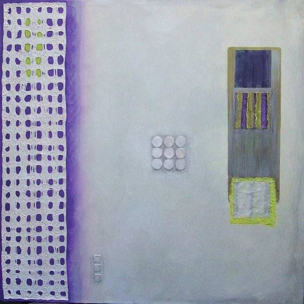 Painting - Purple Passion Number 1 by Marlene Burns
