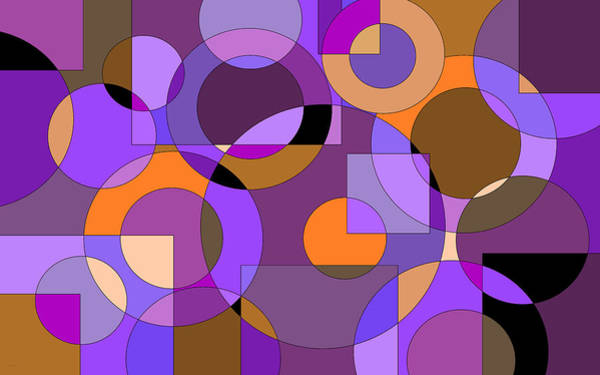 Digital Art - Purple Passion by Val Arie
