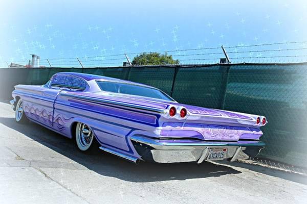 Photograph - Purple Pontiac Perfection by Steve Natale