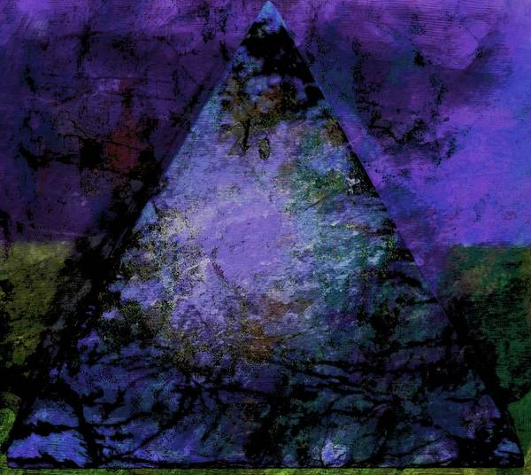 Photograph - Purple Pyramid by Dorothy Berry-Lound