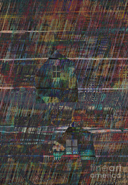Purple Rain Digital Art - Purple Rain by Andy  Mercer