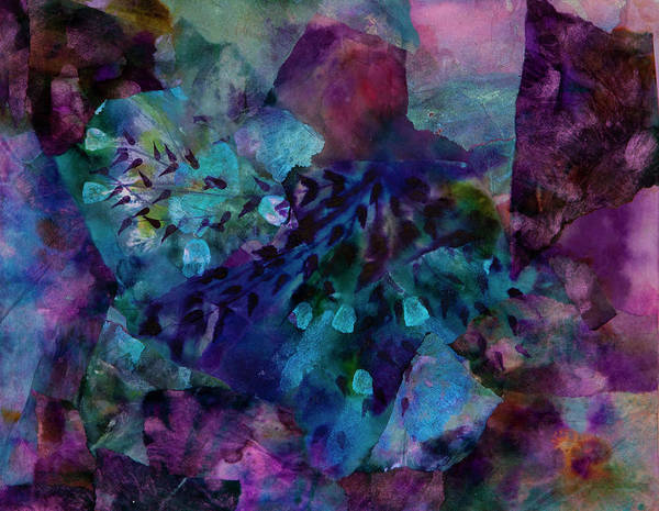 Wall Art - Painting - Purple Rain  by Don Wright