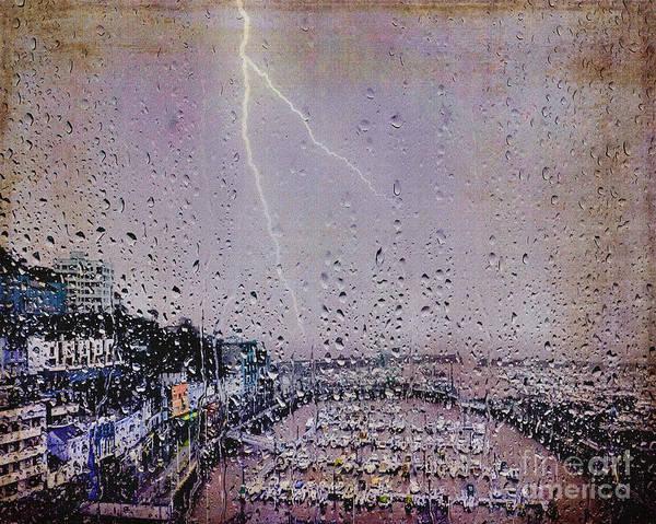Photograph - Purple Rain by Edmund Nagele
