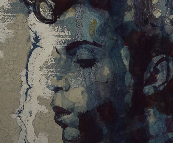 Wall Art - Mixed Media - Purple Rain - Prince by Paul Lovering