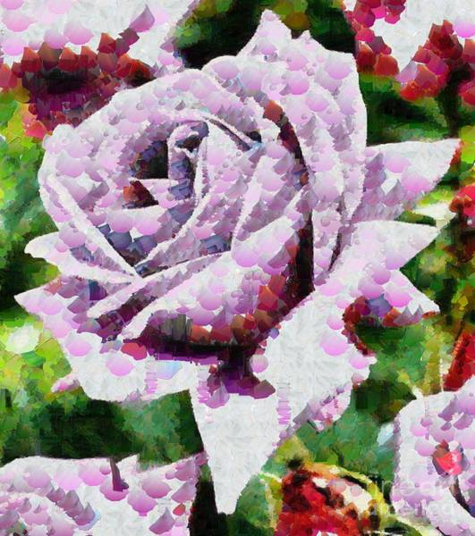 Painting - Purple Rose Painting by Catherine Lott