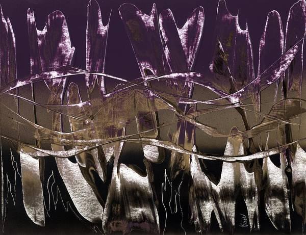 Purple Royale Art Print