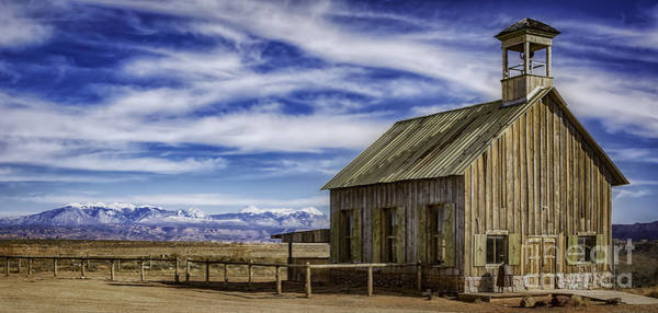 Photograph - Purple Sage Church by Bitter Buffalo Photography