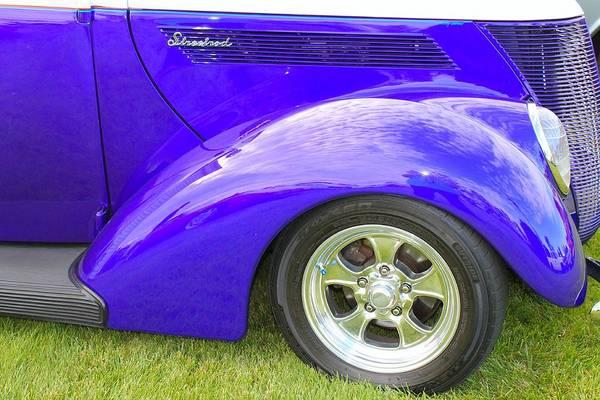 Street Rods Photograph - Purple Streetrod by G Berry