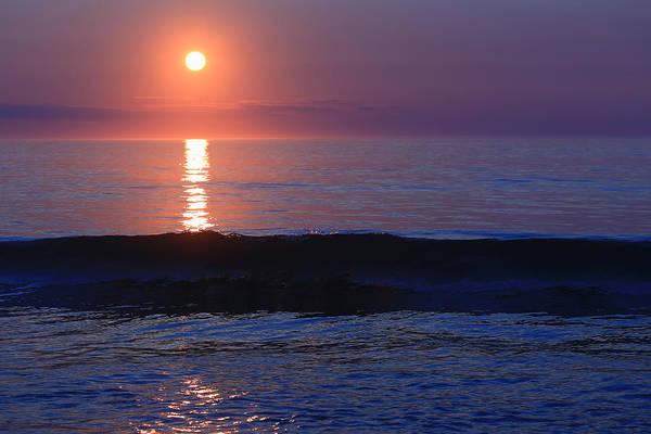 Wall Art - Photograph - Purple Sunrise On Nauset Beach by Dapixara Art