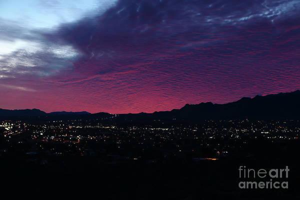 Wall Art - Photograph - Purple Sunrise by Rick Mann