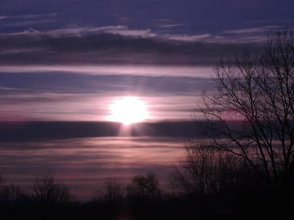 Wall Art - Photograph - Purple Sunrise by Teresa Schomig
