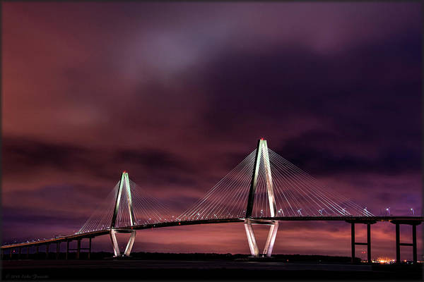 Photograph - Purple Sunset by Erika Fawcett
