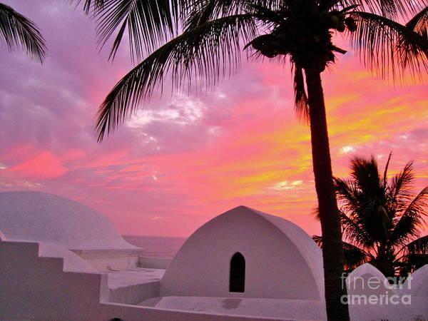 Photograph - Purple Sunset by Patsy Walton