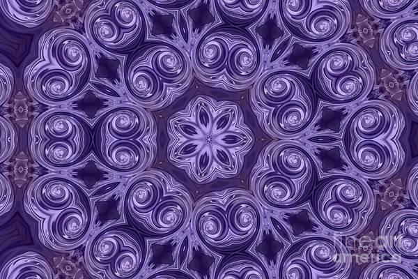 Photograph - Purple Swirls by Elaine Teague