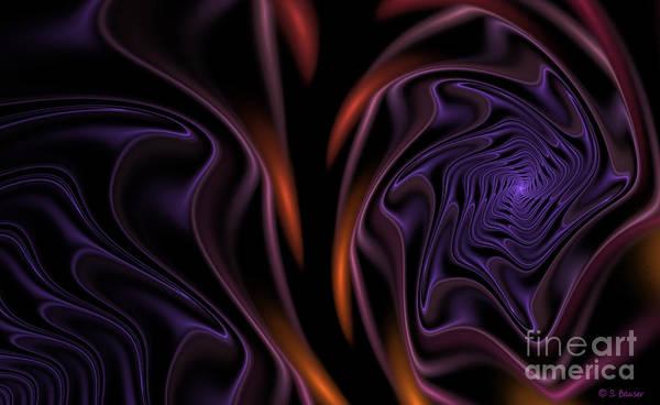 Digital Art - Purple Velvet by Sandra Bauser Digital Art