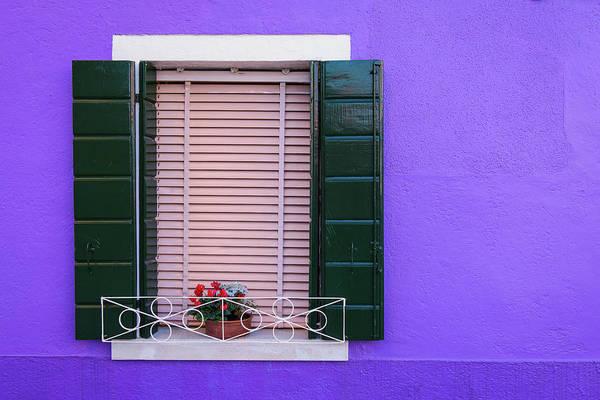 Photograph - Purple Wall by Michael Blanchette