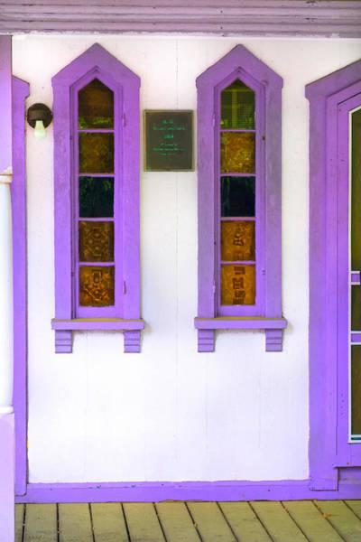 Photograph - Purple Windows - Windows Series 5y by Carlos Diaz